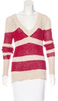 Ulla Johnson Open Knit Striped Sweater w/ Tags