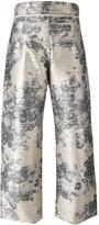 Aviu floral print pants - women - Polyester/Polyamide/Spandex/Elastane/Cotton - 40