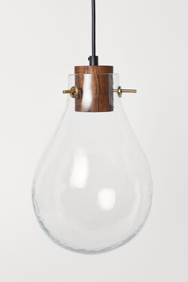 H&M Glass pendant light