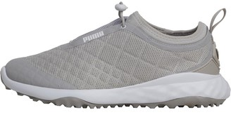 Puma Womens Brea Fusion Sport Golf Shoes Grey Violet/White