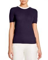 Moncler Cashmere Blend Color Block Knit Tee