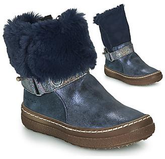 Catimini CALANDRE girls's High Boots in Blue
