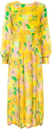 Rixo Emma floral-print dress