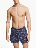 John Lewis & Partners Koi Carp Cotton Boxers, Multi