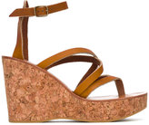 K. Jacques Cunegonde sandals - women - Leather/Cork/rubber - 36