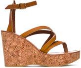 K. Jacques Cunegonde sandals - women - Leather/Cork/rubber - 36