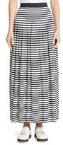 Akris Punto Striped Maxi Skirt
