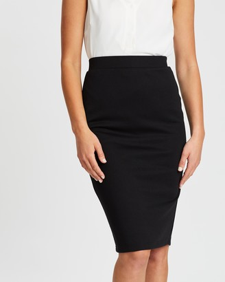 Spurr Women's Black Pencil skirts - Pencil Skirt - Size 18 at The Iconic