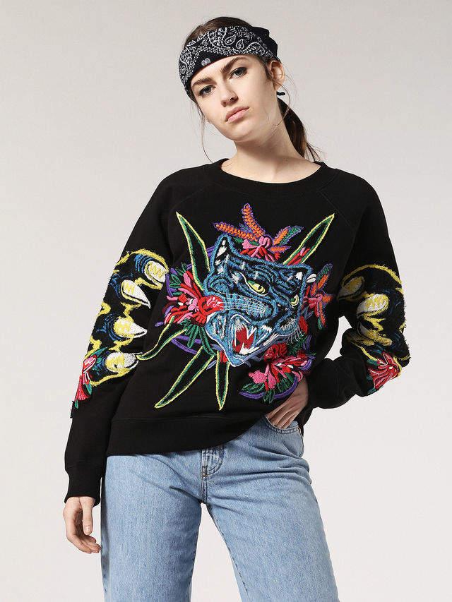 Diesel Sweatshirts 0BAPS - Black - M
