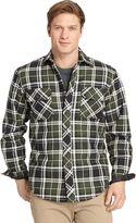 Izod Men's Heavy Twill Shirt Jacket