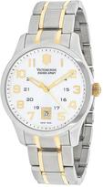 Victorinox Alliance 241324 Men's Two-Tone Stainless Steel Watch