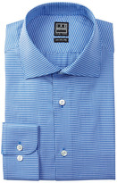 Ike Behar Long Sleeve Houndstooth Dress Shirt