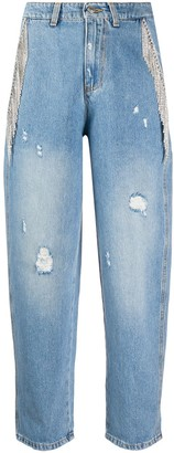 Chiara Ferragni track pants jeans