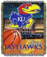 Kansas Jayhawks Tapestry Throw by Northwest