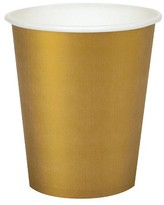 BuySeasons 24ct Glittering Gold Paper Cup