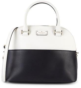 Kate Spade Carli Colorblock Leather Dome Top Handle Bag