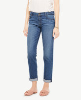 Ann Taylor All Day Girlfriend Jeans in Windblown Wash
