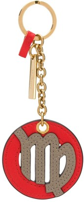 Mulberry Virgo small key ring