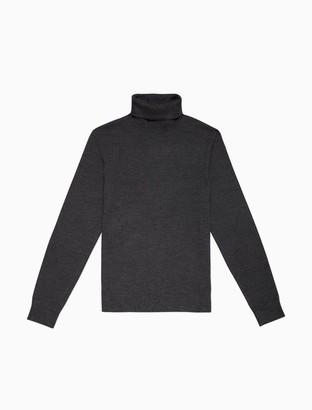 Calvin Klein Merino Wool Turtleneck Sweater