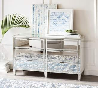 Pottery Barn Park Extra Wide Mirrored Dresser