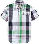 Appaman Harvey Shirt (Toddler/Kid) - Green Plaid-7