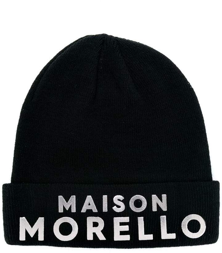 Frankie Morello branded knitted hat