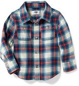 Old Navy Plaid Flannel Shirt for Toddler