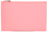 Aspinal of London Women's Essential Pouch Large Blossom/ Pink Metallic