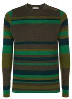 J.w.anderson Striped Wool Sweater