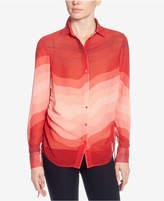 Catherine Malandrino Spencer Printed Shirt