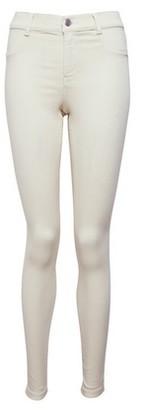Dorothy Perkins Womens Cream Frankie Denim Jeans, Cream