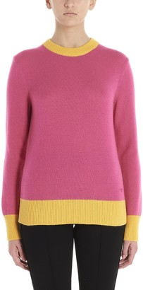 Tory Burch Contrasting Edge Sweater