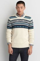 American Eagle Outfitters AE Fair Isle Crew Sweater