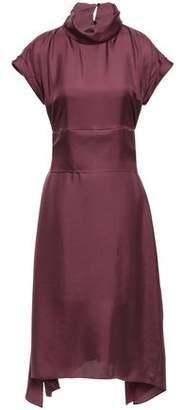 Brunello Cucinelli Silk-satin Twill Dress