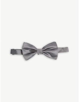 Canali Woven silk bow tie