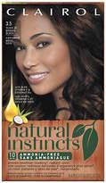 Clairol Natural Instincts Non-Permanent Haircolor Brown Black 35