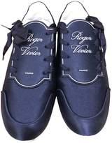 Roger Vivier Sneaky Viv TrAs Vivier Blue Polyester Trainers