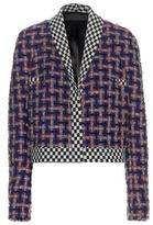 Haider Ackermann Multicoloured Check Bouclé Jacket
