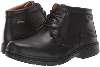 Clarks Rockie Hi GORE-TEX(r) (Black Waterproof) Men's Shoes