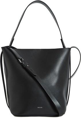 Reiss Hudson Leather Bucket Bag