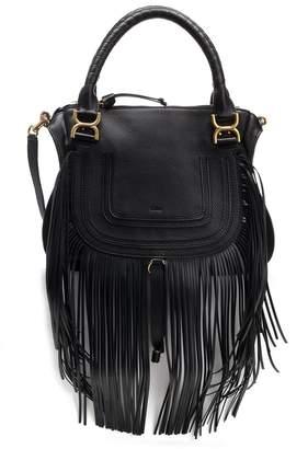 Chloé Marcie Medium Fringed Shoulder Bag
