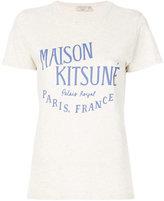 MAISON KITSUNÉ Palais Royal print T-shirt - women - Cotton - M