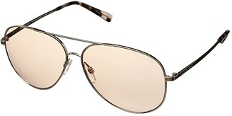 Michael Kors 0MK5016 (Shiny Rose Gold/Pink Solid) Fashion Sunglasses