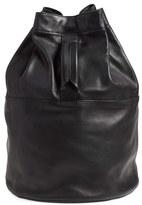 Rag & Bone 'Walker' Leather Backpack - Black