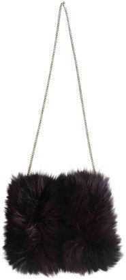 Diane von Furstenberg Burgundy Fox Handbags