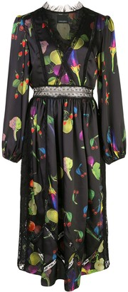 Cynthia Rowley Krystal fruit print dress