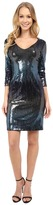 Karen Kane Waterfall Sequin Sheath Dress