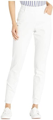 Jag Jeans Bryn Skinny Elite Colored Denim Jeans (White) Women's Jeans