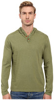 Lucky Brand Two-Button Henley with Hood