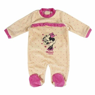 CERDA ARTESANIA Baby Girls' Pelele Minnie Footies